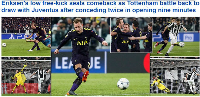 Man City, Tottenham rực rỡ: Báo chí Anh nổ vang, khen hay nhất châu Âu - 3