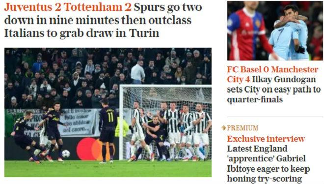 Man City, Tottenham rực rỡ: Báo chí Anh nổ vang, khen hay nhất châu Âu - 4
