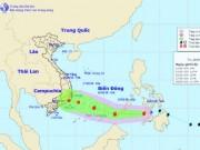 Tối nay, bão Sanba giật cấp 10 đi vào Biển Đông