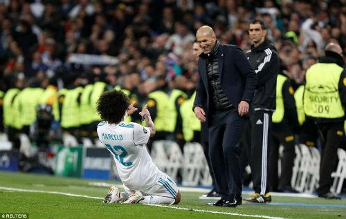 Chi tiết Real Madrid - PSG: Ronaldo, Marcelo thi nhau lập công (KT) - 11