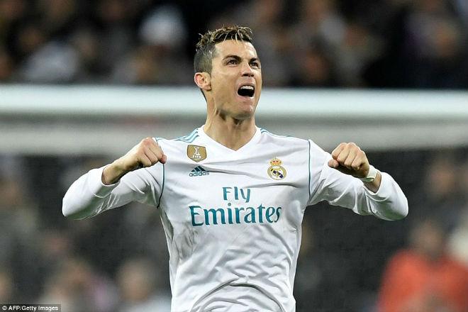 Vua Ronaldo phô diễn quyền uy Cúp C1: Neymar cúi đầu khuất phục - 7