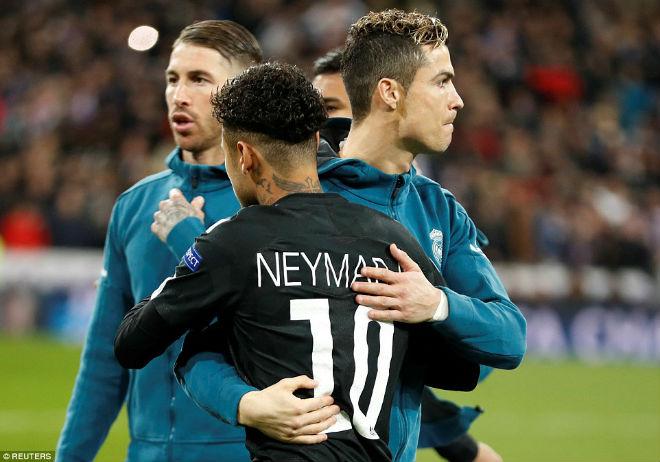 Vua Ronaldo phô diễn quyền uy Cúp C1: Neymar cúi đầu khuất phục - 1