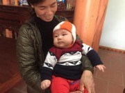 """Đón cái Tết đầu tiên, bé sơ sinh có cân nặng """"khủng"""" nhất Việt Nam đã biết lẫy"""