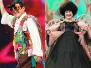 Chí Trung, Minh Vượng mặc trang phục kỳ dị nhất Táo Quân 2018