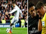 Ronaldo đá phạt đền sai luật: PSG thua đau, Neymar sút vỡ mặt trọng tài