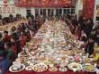 4 vạn gia đình tụ tập tất niên với 13.200 món ăn trang trí hình chó