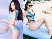 1001 kiểu chụp bikini phô diễn vòng 3 nở nang của mỹ nhân Việt