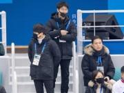 Thế giới - Lực lượng đeo khẩu trang đen bí ẩn luôn đi theo đội cổ vũ Triều Tiên