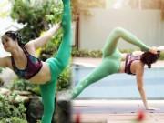 """8X Sài Gòn  """" dẻo như kẹo kéo """"  gợi ý bài tập yoga cho Tết Mậu Tuất"""