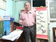 PGS Bùi Hiền khai bút bằng chữ cải tiến tiếw Việt
