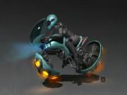 Những mẫu môtô bay quái dị nhất hành tinh
