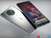 Ngắm concept Nokia 10 có camera 5 ống kính lạ mắt