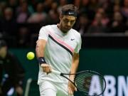 Federer - Kohlschreiber: Set 1 xuất thần, tie-break nghẹt thở (V2 Rotterdam Open)