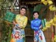 Đức Vĩnh - Thái Nhiên Phương diện áo dài đôi đón Tết
