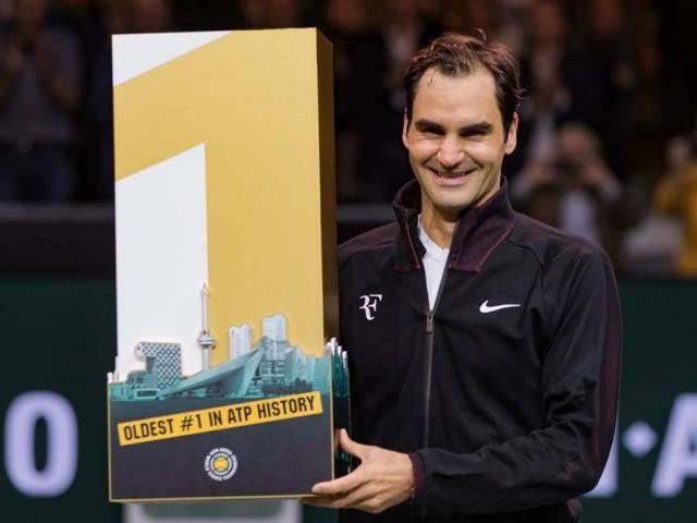 Federer bật khóc: Soán ngôi số 1 thế giới của Nadal, lập 2 kỷ lục đáng nể