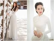 Ngẩn ngơ ngắm mỹ nhân Việt khoe đường cong vệ nữ với áo dài
