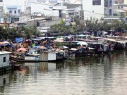 Tin tức trong ngày - Cái Tết của những mảnh đời lênh đênh trên con nước giữa trung tâm Sài Gòn