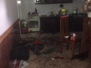 An ninh Xã hội - Nghi án lái ô tô tông sập cổng, nổ mìn tại nhà nữ giáo viên