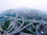 """Thành phố TQ với  """" ma trận """"  đường khiến người lạ thấy chóng mặt"""