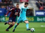 """Eibar - Barcelona: Đánh vật với  """" ngựa ô """" , bước ngoặt thẻ đỏ"""