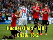 Huddersfield - MU: Ngã ở đâu, đứng dậy ở đó