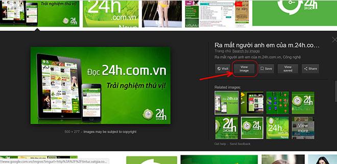Đưa nút View Image trở lại công cụ tìm kiếm hình ảnh của Google - 2