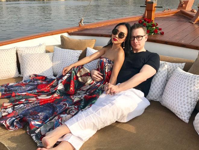 Đoan Trang: Chồng Tây bỏ hết công việc để ở bên tôi ngày Tết - 1
