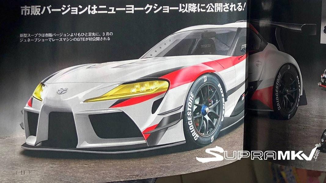 Toyota Supra 2019 rò rỉ trên một tạp chí tại Nhật Bản? - 3