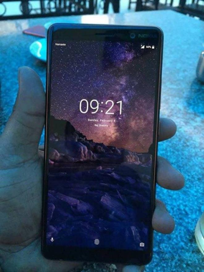 Rò rỉ hình ảnh trực tiếp đầu tiên của Nokia 7 Plus sắp ra mắt - 1