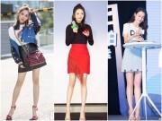 Ngắm hoài không chán những đôi chân  cực phẩm  của mỹ nhân Hàn