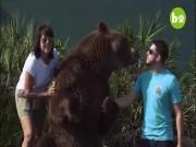 Gia đình Mỹ nuôi 14 gấu khổng lồ như con cháu trong nhà