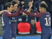 PSG - Strasbourg: Neymar điểm 10, đại yến 7 bàn