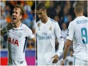 """Real: Benzema  """" thảm họa """" , Ronaldo mơ đá cặp Harry Kane 300 triệu euro"""