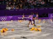 """Tin nóng Olympic mùa Đông 18/2: Người Nhật gây sốc với  """" mưa gấu Pooh """""""
