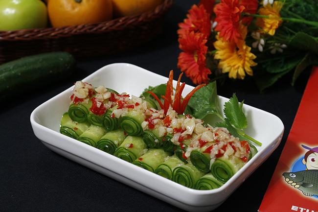 Salad dưa chuột chua cay giải ngán ngày Tết - 1