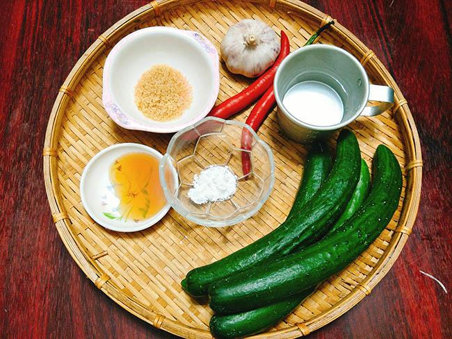 Salad dưa chuột chua cay giải ngán ngày Tết - 2