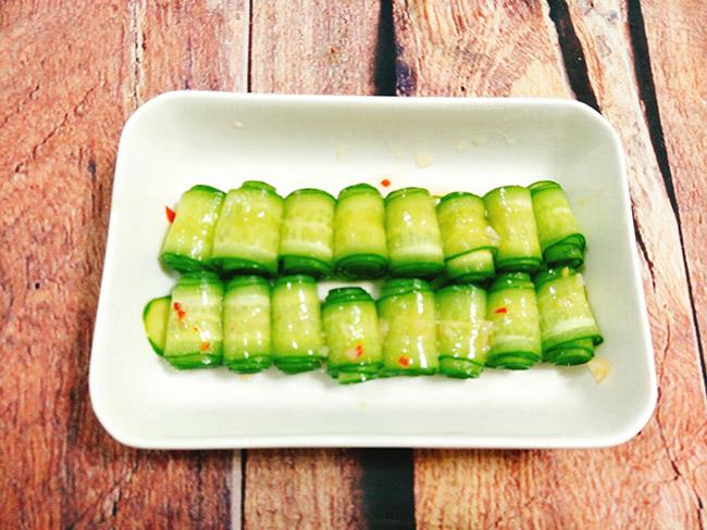 Salad dưa chuột chua cay giải ngán ngày Tết - 5