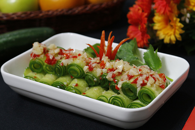 Salad dưa chuột chua cay giải ngán ngày Tết - 7