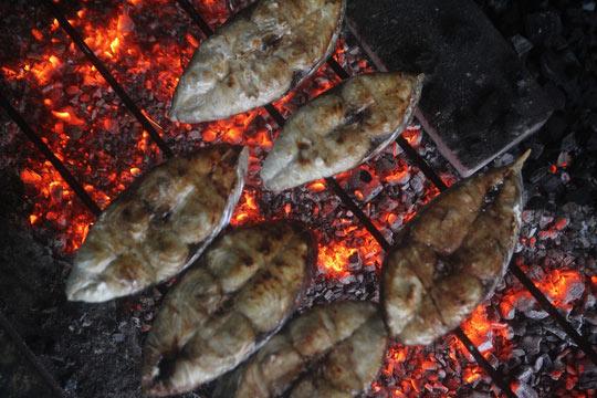 Thơm ngon đặc sản cá thu nướng Cửa Lò - 3
