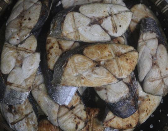 Thơm ngon đặc sản cá thu nướng Cửa Lò - 4