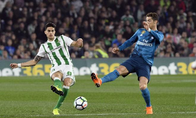 Betis - Real Madrid: Rượt đuổi điên rồ, 8 bàn mỹ mãn - 1