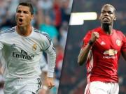 Bóng đá - Chuyển nhượng MU: Ronaldo ngăn cấm Pogba sang Real