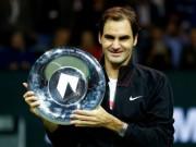 Tin thể thao HOT 19/2: Lên ngôi số 1 thế giới, Federer vớ bẫm triệu đô