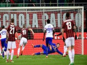 """AC Milan - Sampdoria: Penalty hỏng ăn  & amp;  """" nhát kiếm """"  chí tử"""
