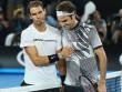 """Bảng xếp hạng tennis 19/2: Hạ bệ Nadal, chào Federer """"ngài số 1"""" vĩ đại"""