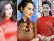 Các nữ MC xinh đẹp nhất của VTV xuống phố ngày Tết với áo dài
