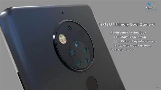 Ngắm Nokia 10 đẹp như mơ đồng 5 ống kính ở phía sau - 1