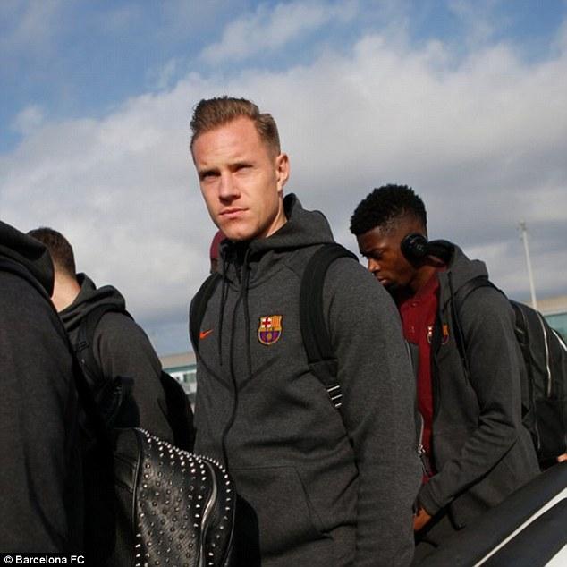 Dàn siêu sao Barca đổ bộ xuống London, sẵn sàng kéo sập Stamford Bridge - 8