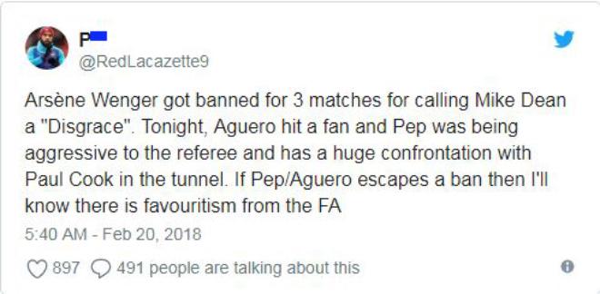 Man City thua sốc FA Cup: Aguero đánh CĐV, đối mặt án phạt nặng - 7