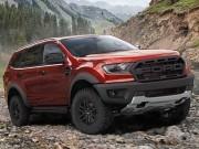 Nối tiếp Ford Ranger, Ford Everest sẽ có thêm phiên bản Raptor?